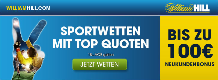 bonusaktion von william hill